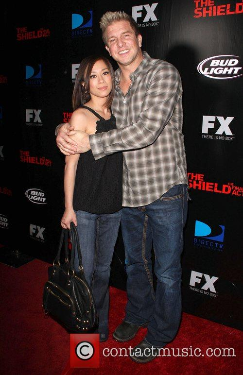 Kenny Johnson Screening of 'The Shield' held at...