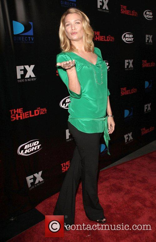 Laurie Holden Screening of 'The Shield' held at...