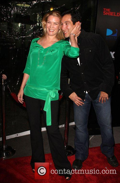 Laurie Holden and Benito Martinez Screening of 'The...