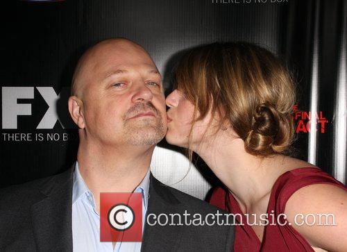 Michael Chiklis and Autumn Chiklis Screening of 'The...