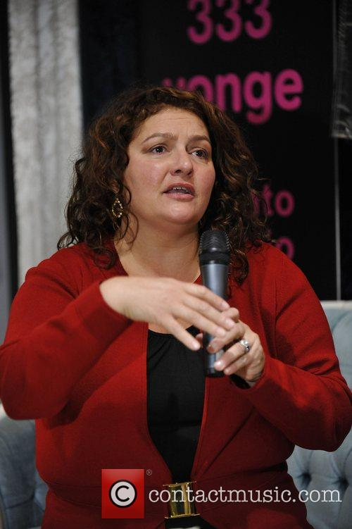 aida turturro makes an in store appearance to celebrate the dvd release of 'the sopranos: the complete series' at hmv 5209014