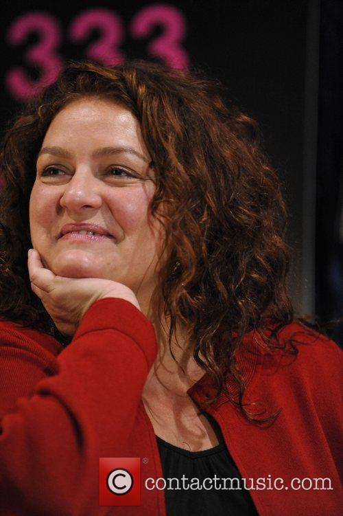 Aida Turturro makes an in-store appearance to celebrate...