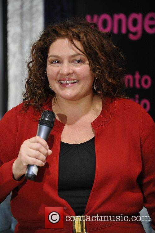aida turturro makes an in store appearance to celebrate the dvd release of 'the sopranos: the complete series' at hmv 5209017