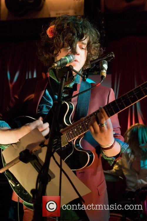 Kyle Falconer, lead singer of The View performs...