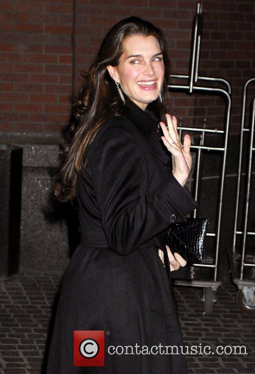 Brooke Shields arrives to the screening of The...