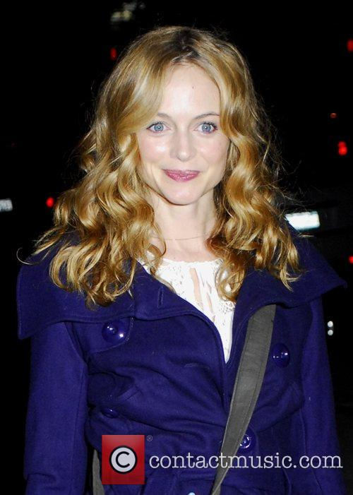 Heather Graham arrives to the screening of The...