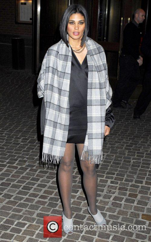 Rachel Roy arrives to the screening of The...