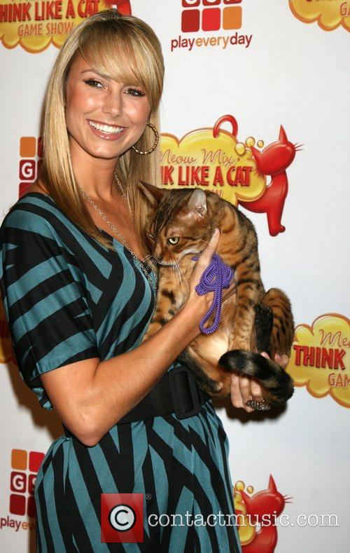 Stacy Keibler  The premiere of Game Show...