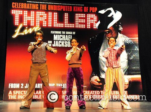 The new stars of Thriller Live are introduced...