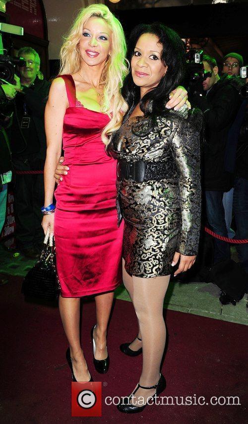 Alicia Douvall and Michael Jackson 1