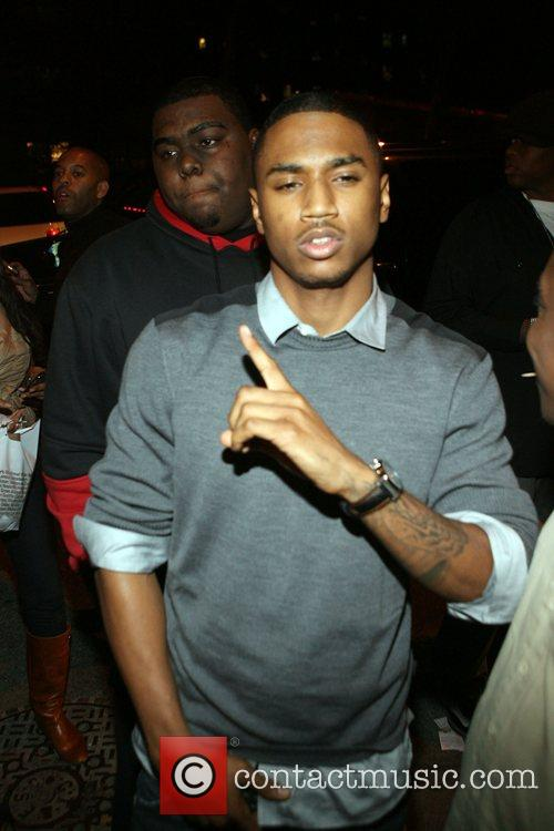 Trey Songz Patron's Music in Motion Tour party...