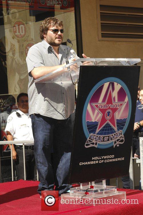 Jack Black Tim Robbins is honoured with with...