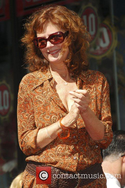 Susan Sarandon Tim Robbins is honoured with with...