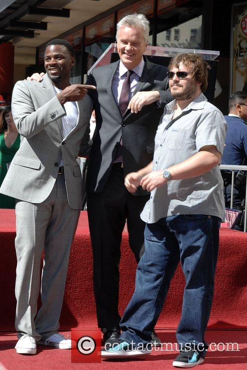 Derek Luke and Tim Robbins 5