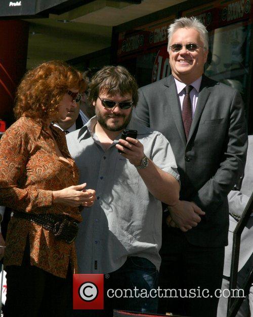 Susan Sarandon, Jack Black and Tim Robbins Tim...