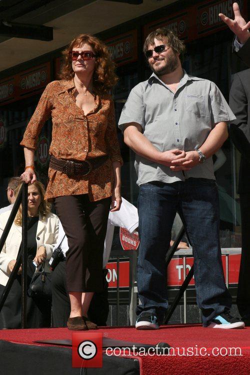 Susan Sarandon, Jack Black, Walk Of Fame