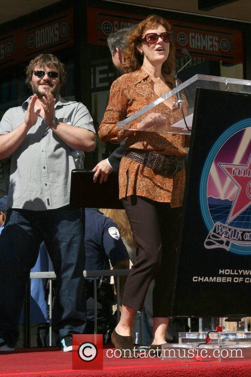 Susan Sarandon and Jack Black Tim Robbins is...
