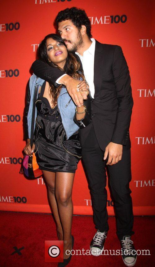 M.I.A. and boyfriend Ben Brewer Time's 100 Most...