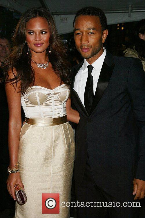 John Legend and Girlfriend Christine Teigen 1