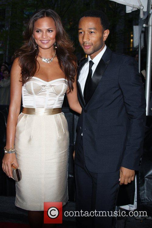 John Legend, girlfriend Christine Teigen