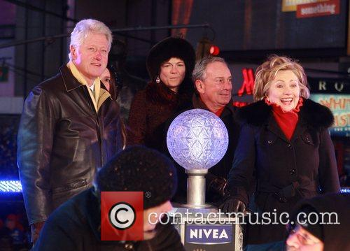 Bill Clinton and Mayor Michael Bloomberg 5
