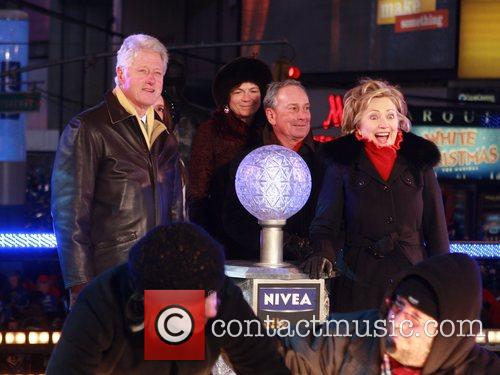 Bill Clinton and Mayor Michael Bloomberg 2