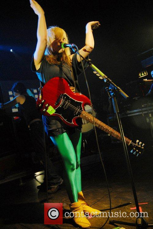 The Ting Tings performing live at Shepherds Bush...
