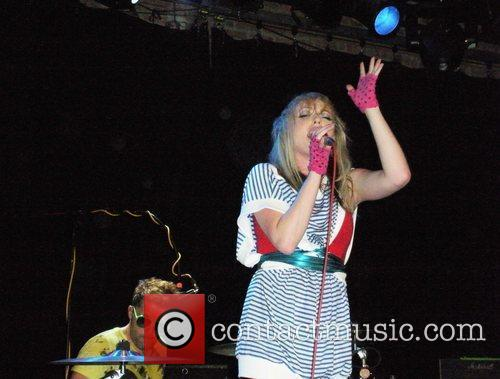 The Ting Tings perform at The Music Hall...