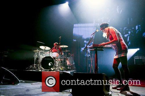Ting Tings performing live at Brixton Academy...