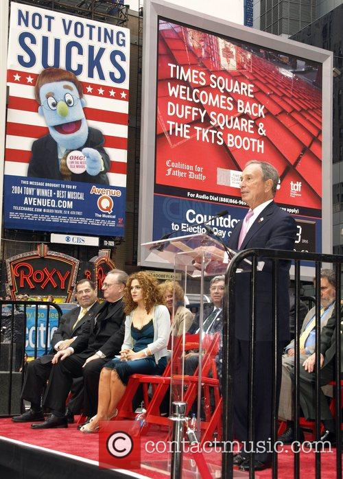 Mayor Michael Bloomberg at the Grand Opening of...