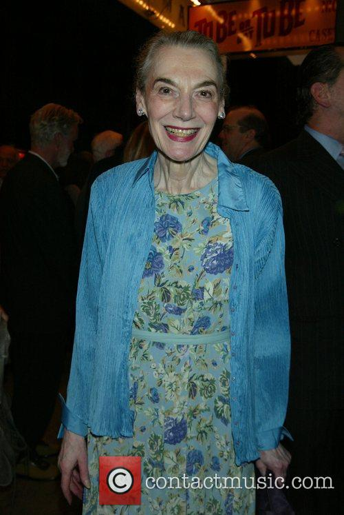 Marian Seldes Opening Night for 'To Be Or...