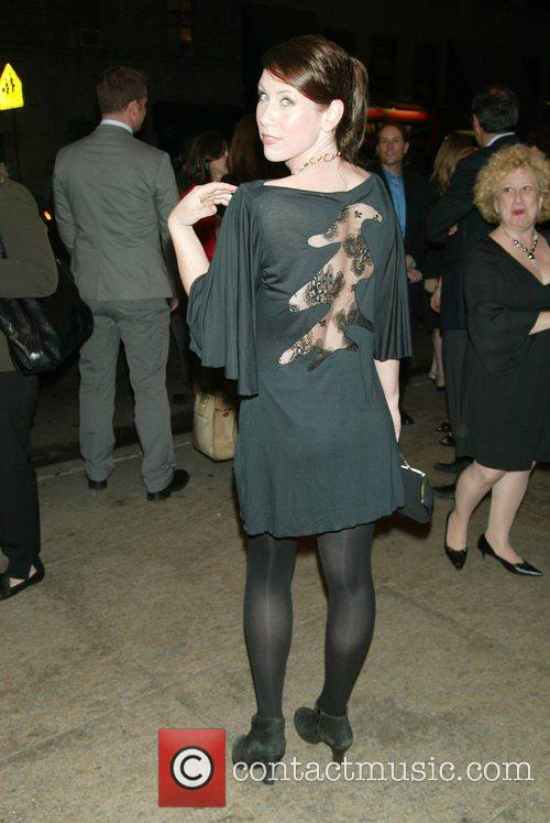 Miriam Shor Opening Night for 'To Be Or...