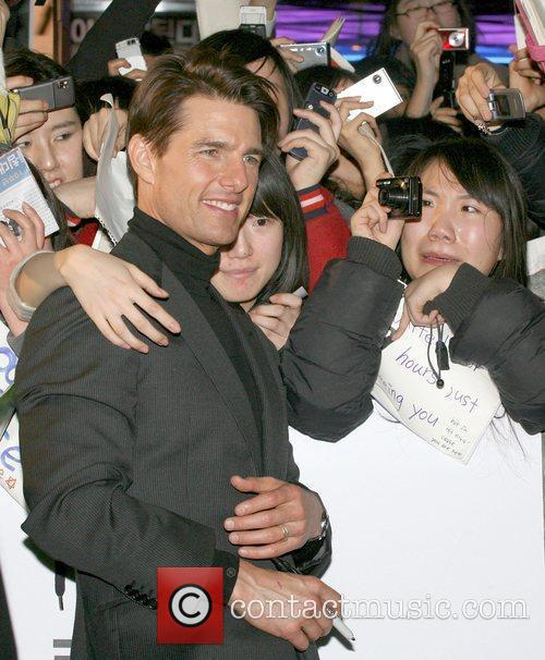 Tom Cruise attends the Korean premiere of 'Valkyrie'...