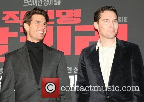 Tom Cruise and Bryan Singer 1