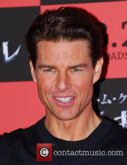 Tom Cruise attends a photocall ahead of the...