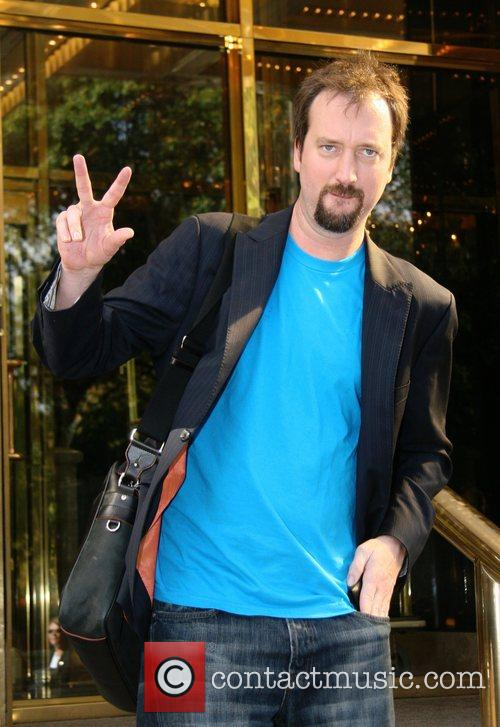Tom Green outside of his Manhattan Hotel New...
