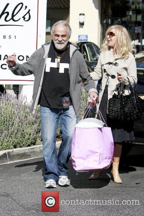 Tommy Chong and Shelby Chong  out and...