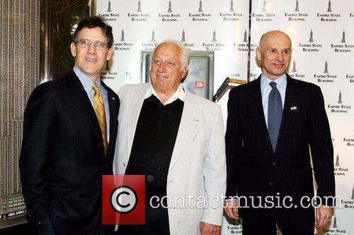 Tim Brosnan Tommy Lasorda and Jim Connors The...