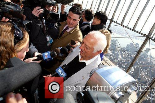 Tommy Lasorda The Empire State Building celebrates the...