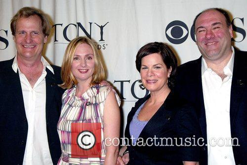 Jeff Daniels, James Gandolfini and Marcia Gay 5