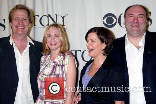 Jeff Daniels, James Gandolfini and Marcia Gay 2