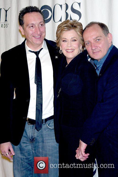 Moises Kaufman, Jane Fonda, Tony Awards