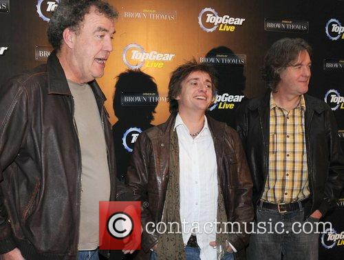 Jeremy Clarkson, Richard Hammond and James May attend...