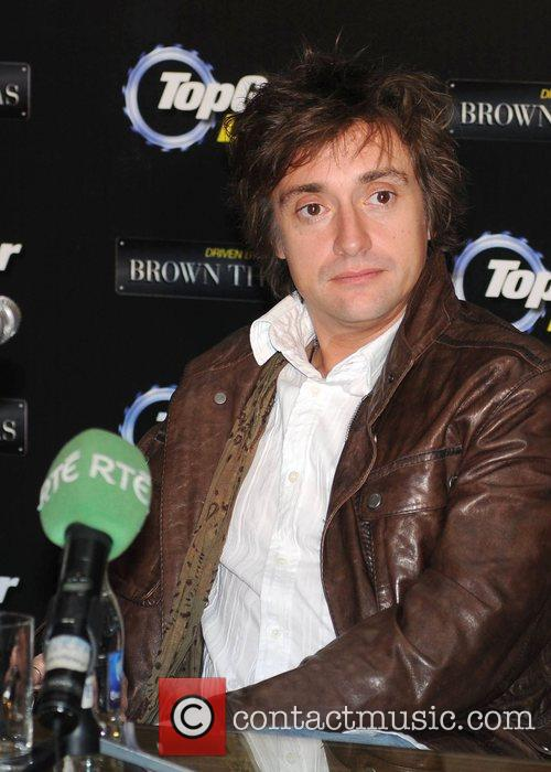Richard Hammond  attends a press conference at...