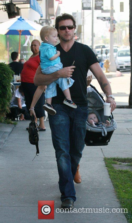 Dean McDermott  having a day out with...