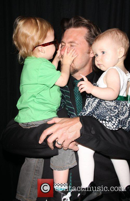 Dean Mcdermott, Children Liam Aaron and Stella Doree 2
