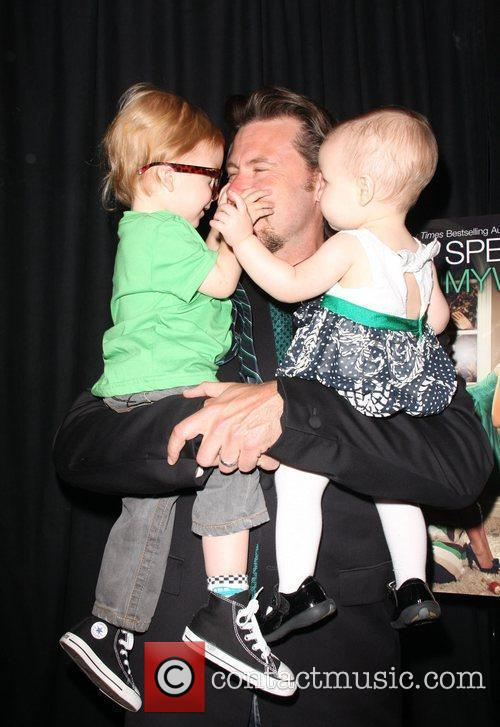 Dean Mcdermott, Children Liam Aaron and Stella Doree 1