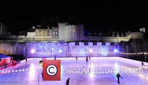 Gala Opening Of The Tower Of London Ice Rink In Aid Of Rays Of Sunshine Children's Charity At Tower Of London 1