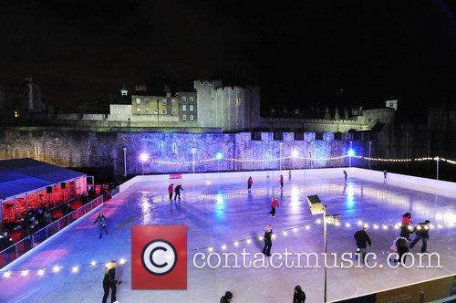Gala Opening Of The Tower Of London Ice Rink In Aid Of Rays Of Sunshine Children's Charity At Tower Of London 2