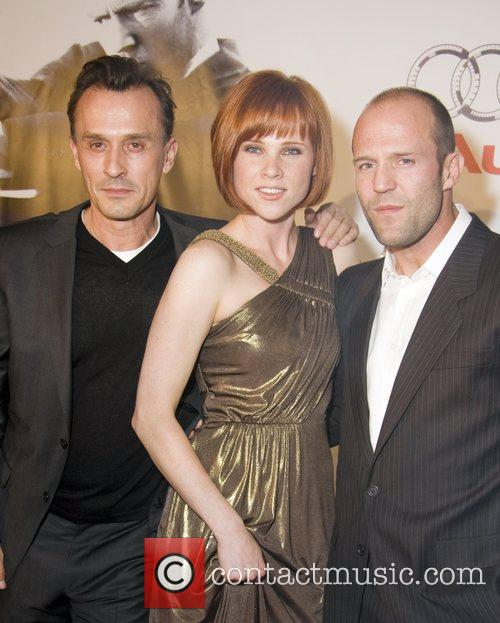 Robert Knepper, Natalya Rudakova and Jason Statham 2